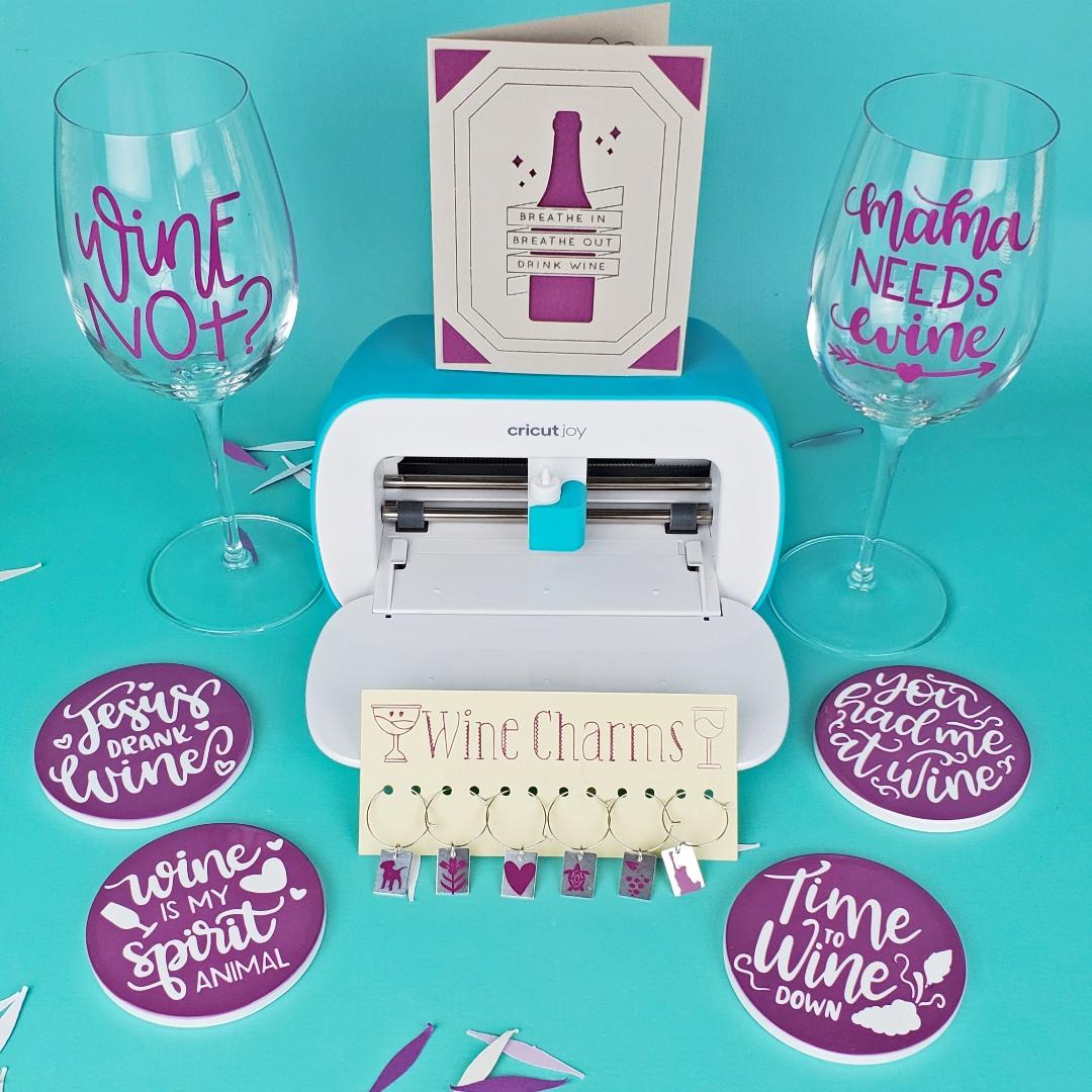 wine gift baskets cricut