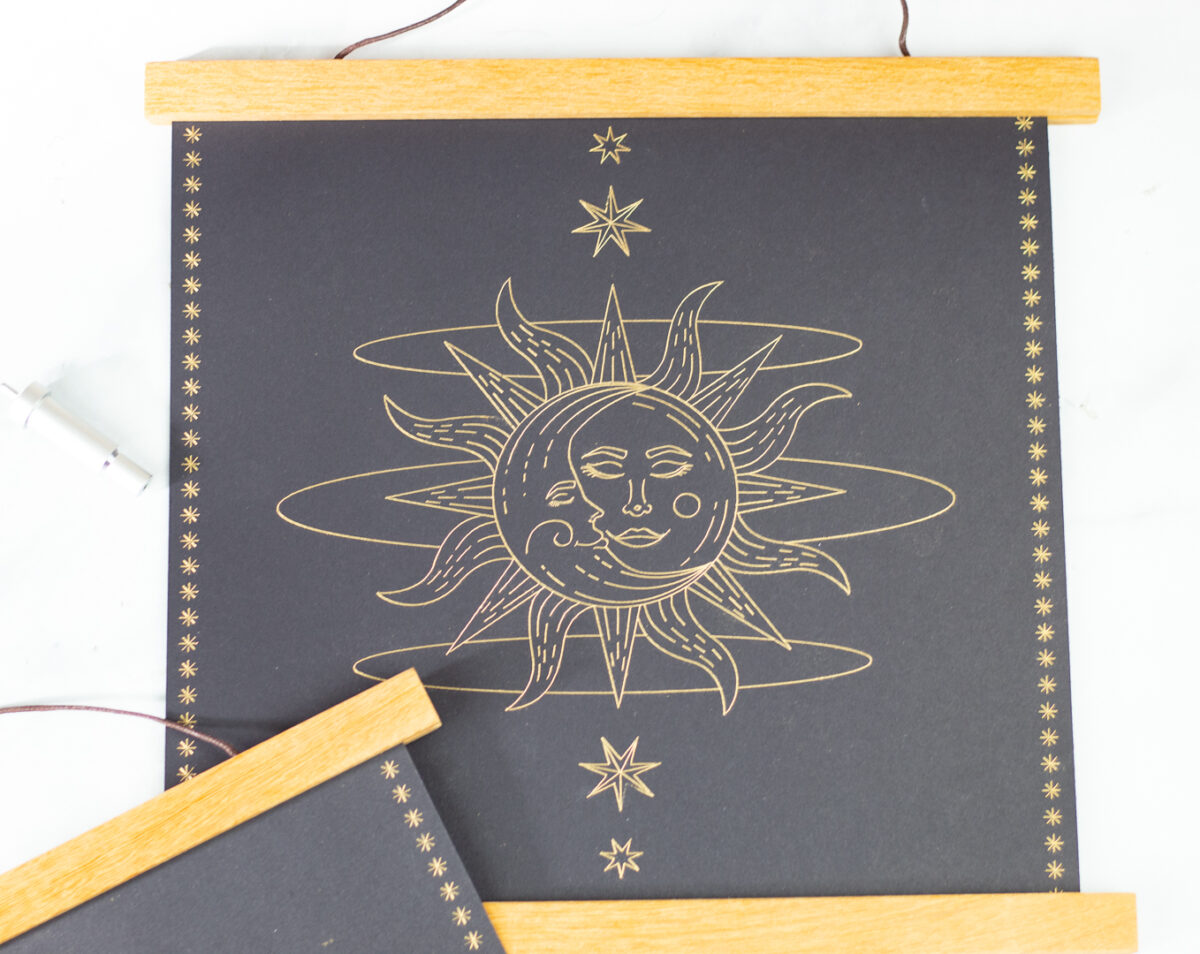 astrology art diy cricut
