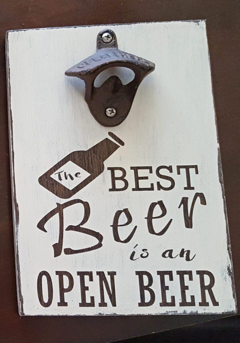best beer sign cricut