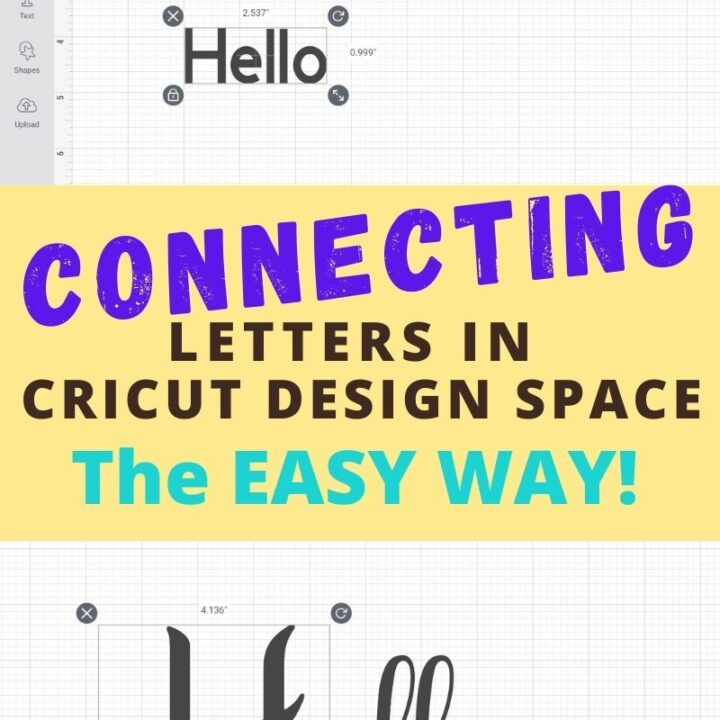 cricut kerned fonts pinterest