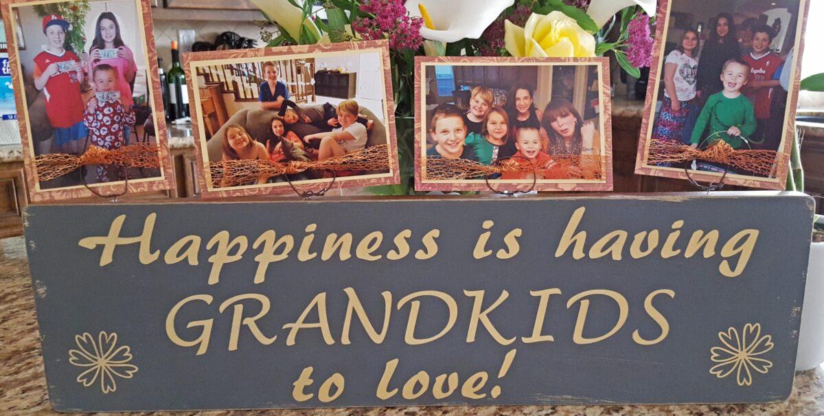 grandkids sign cricut