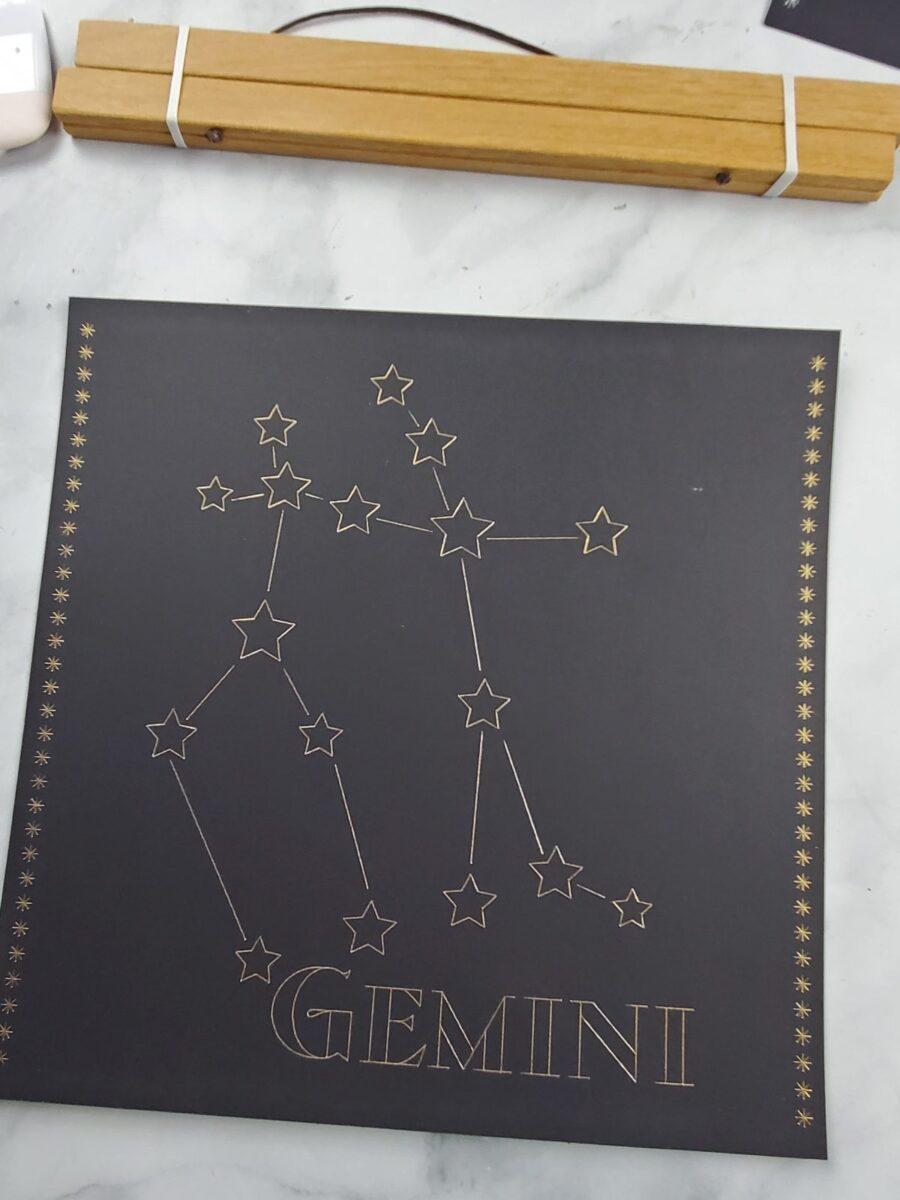 magnetic poster hanger for astrology art