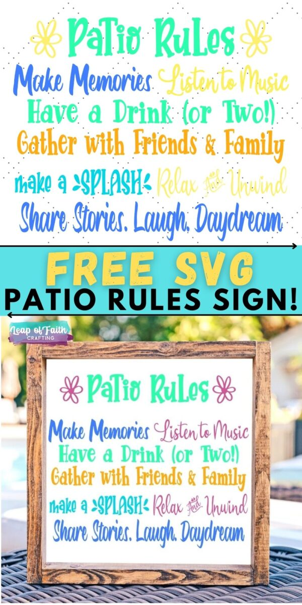 patio rules svg files pin