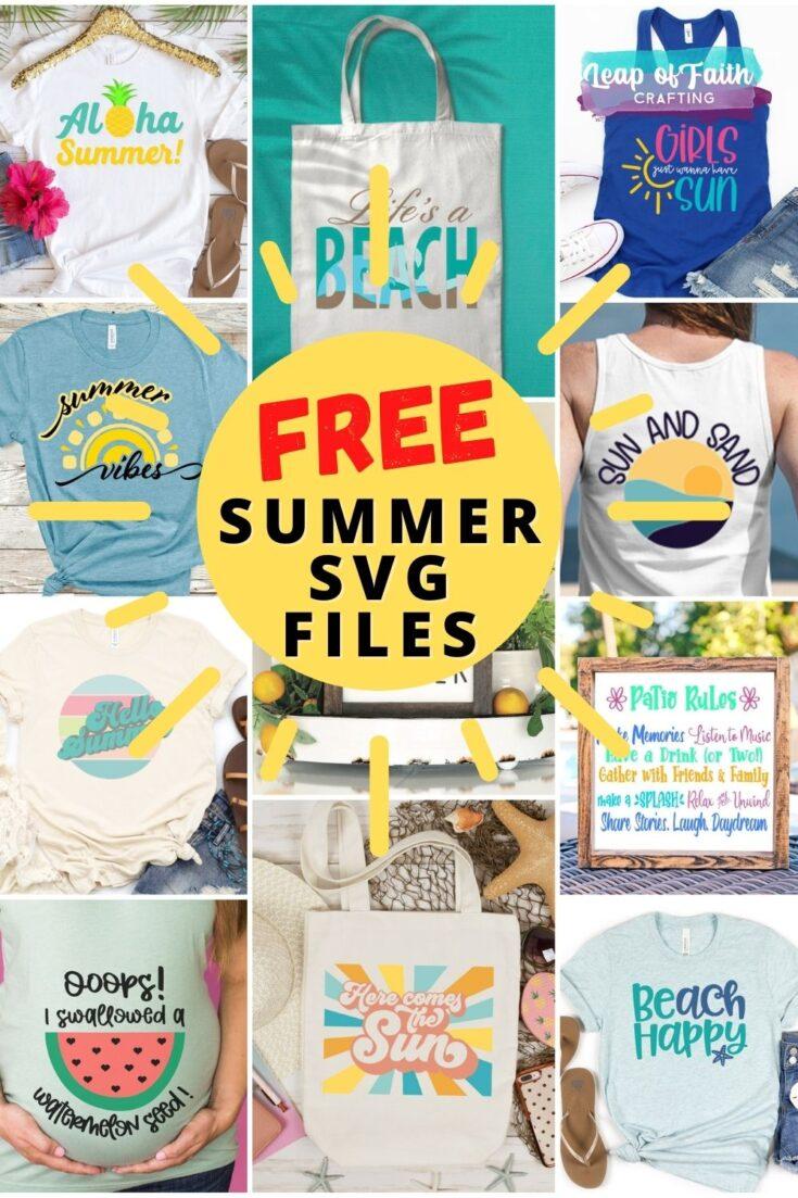 summer svg files free