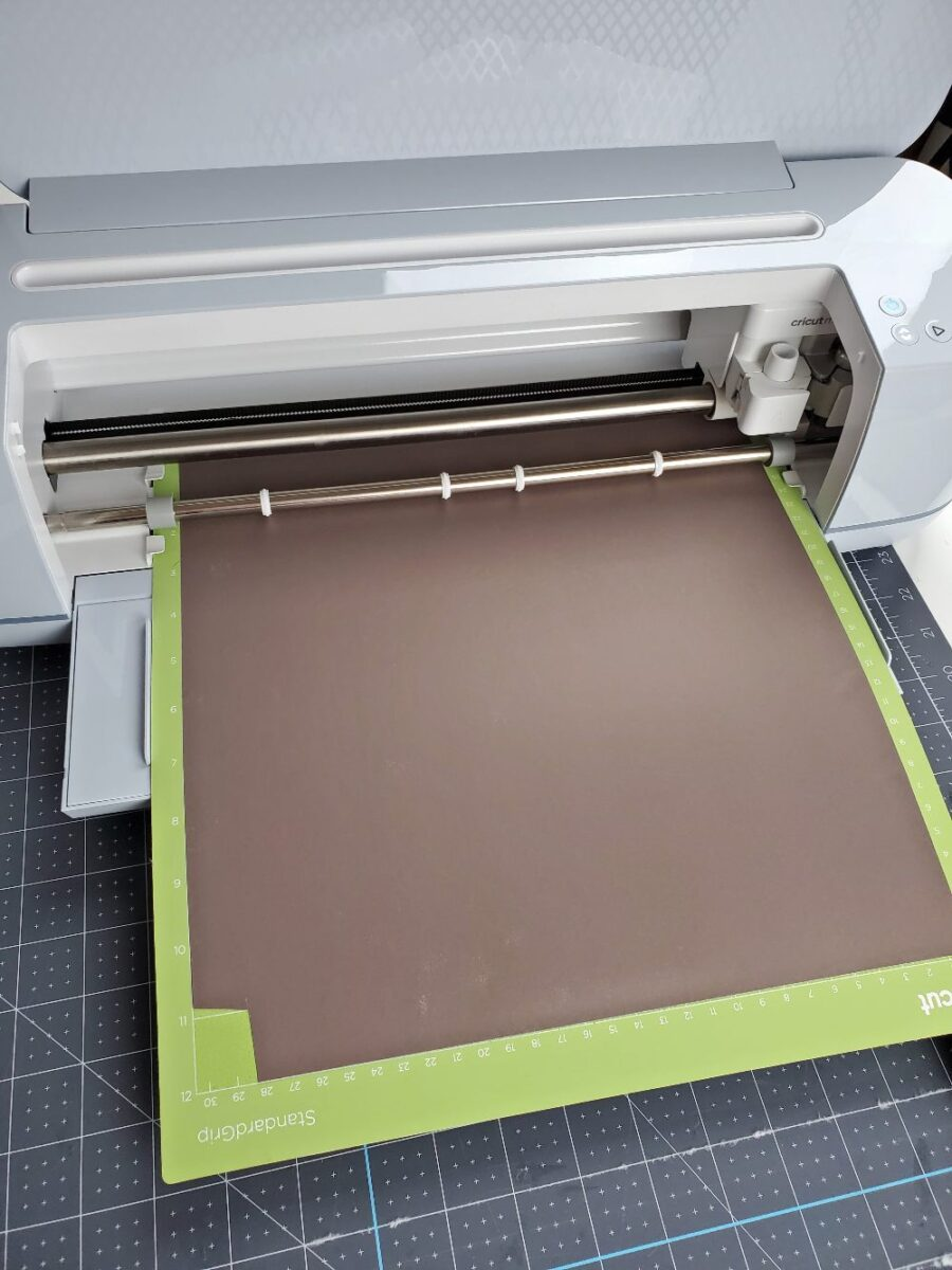 cutting infusible ink for baby blanket