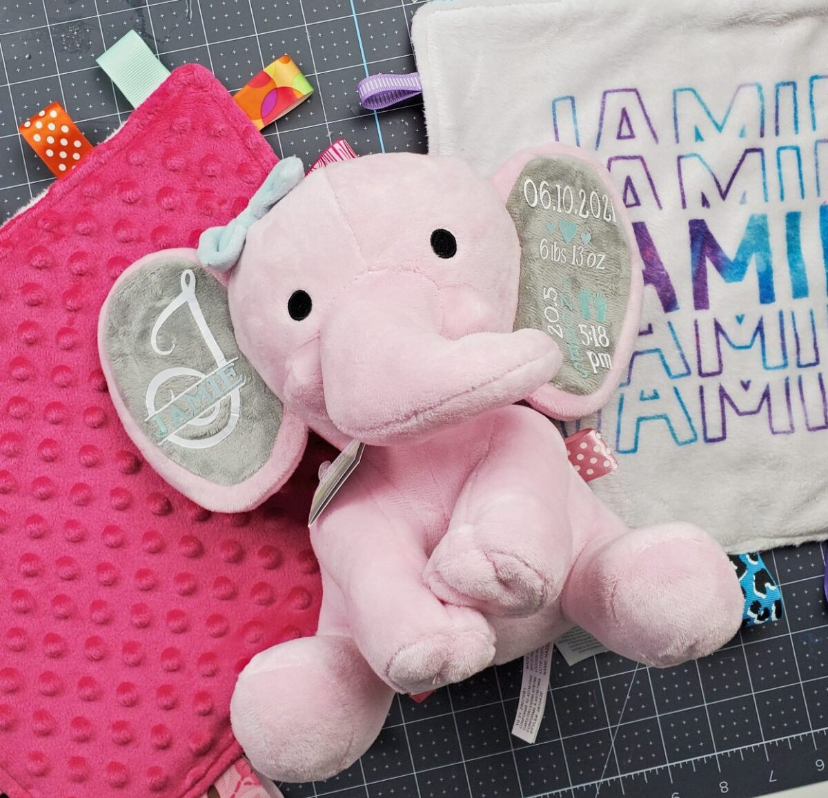 diy baby gifts personalized