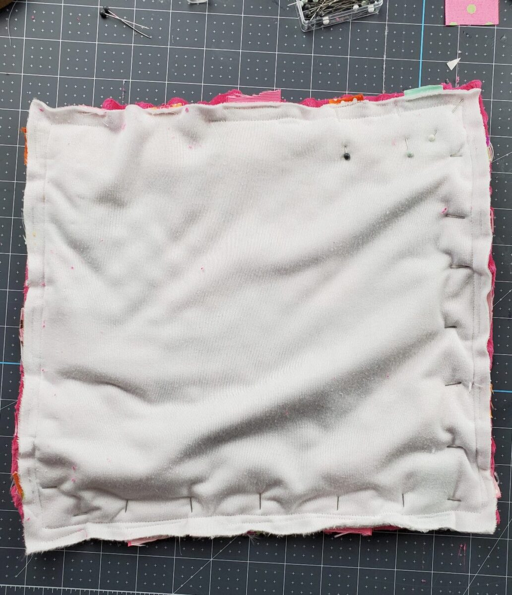 how to make minky baby blanket