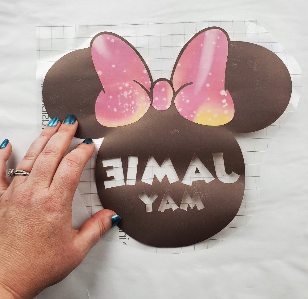 minnie mouse head infusible ink