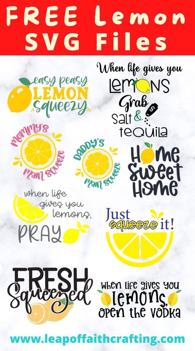lemon cut files