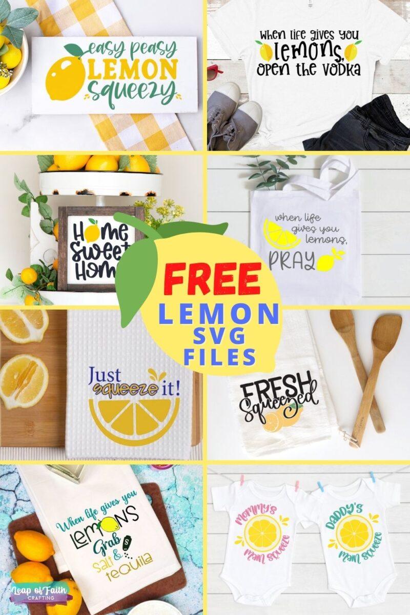 lemon svg files free