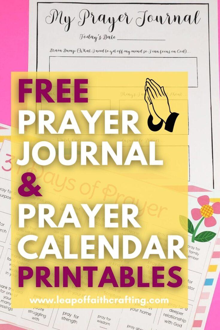 prayer calendar pinterest