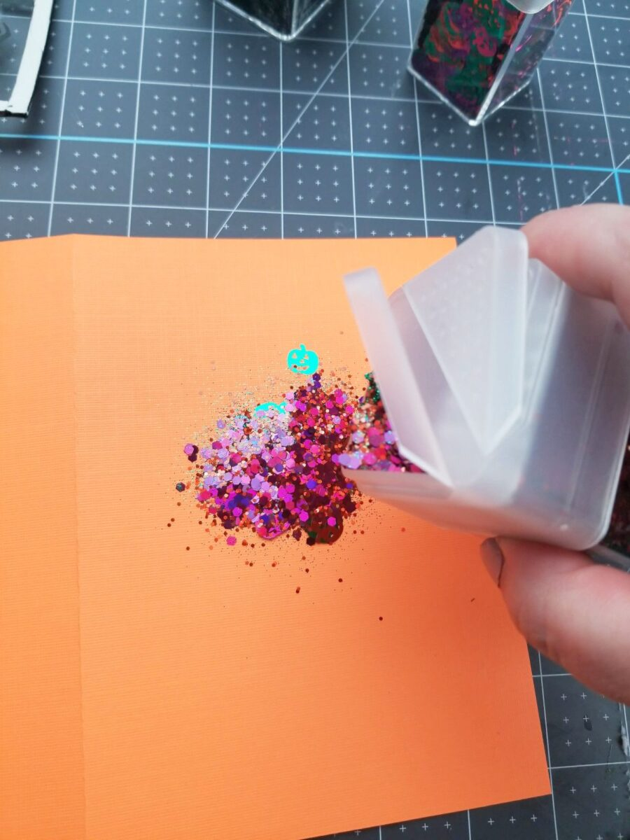 handmade shaker card