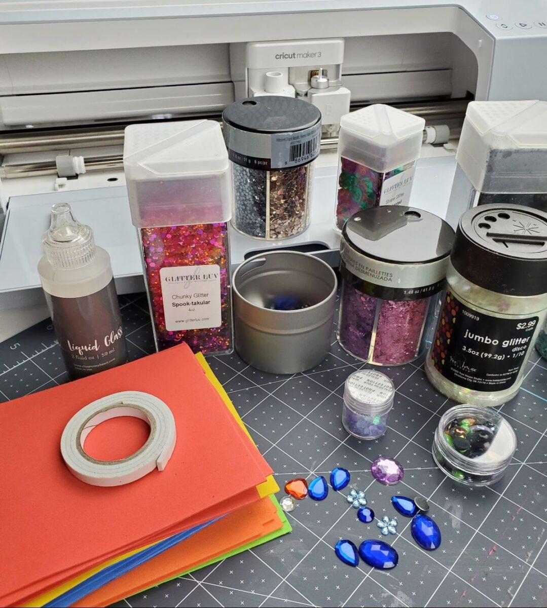 shaker card supplies