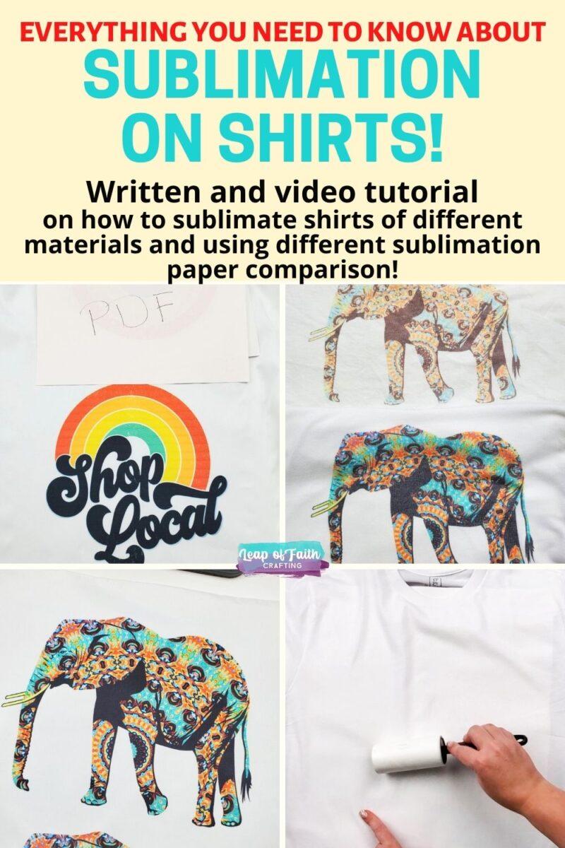 shirt sublimation comparison
