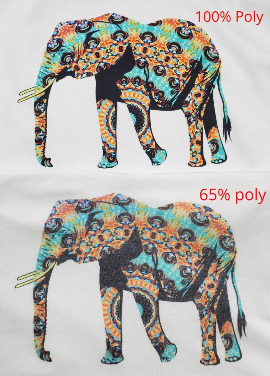 sublimation comparison fabric