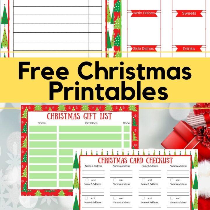 christmas gift list printable pin