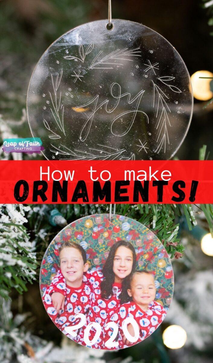 cricut ornaments