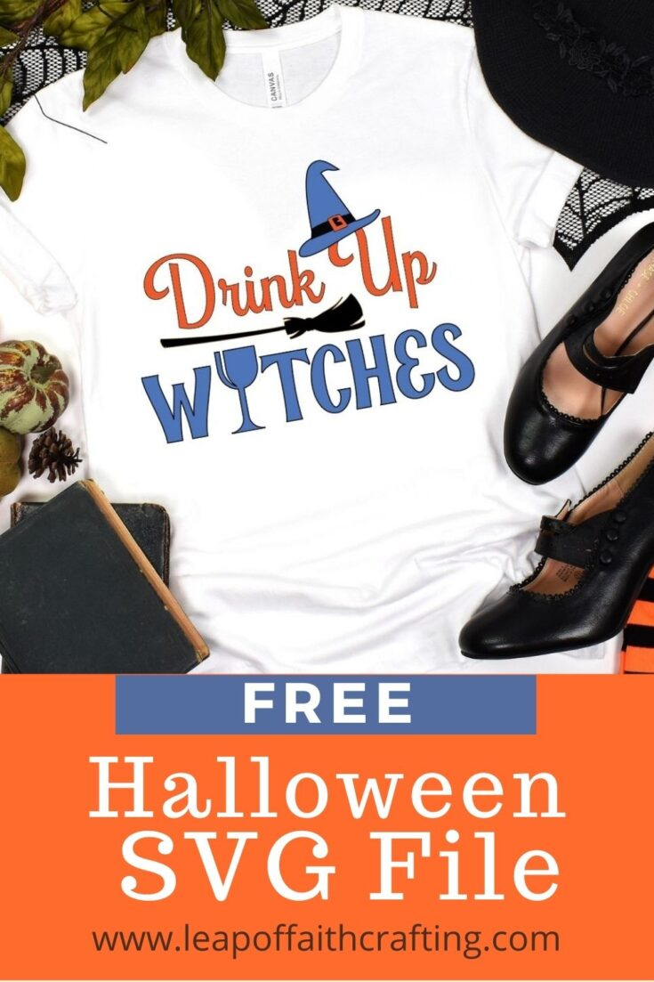 drink up witches shirt svg