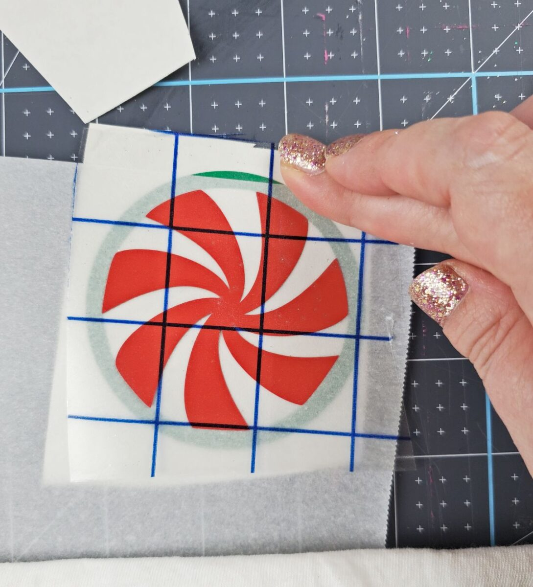 using parchment paper to layer vinyl