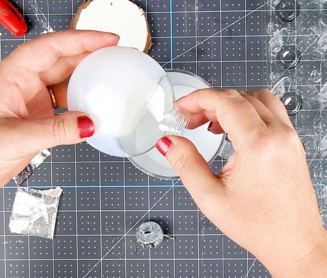 adding polycrylic santa cam