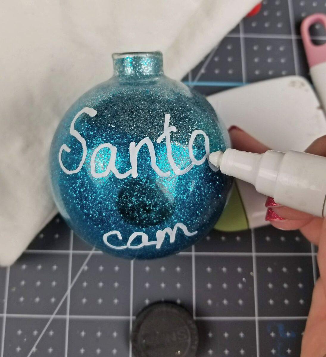 handwriting santa cam